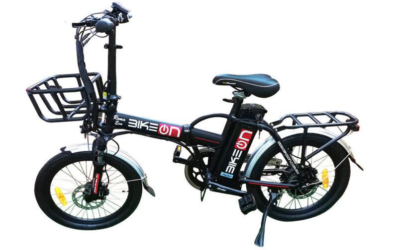 Bicicleta Eléctrica Plegable modelo Roma EVO